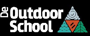 De Outdoor School - Logo Wit